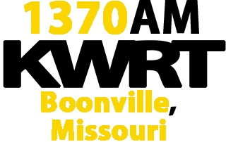 KWRT 1370 AM Boonville Missouri Radio Station Logo