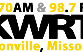 KWRT 1370 AM and 98.7 FM Boonville Missouri Radio Station Logo 720